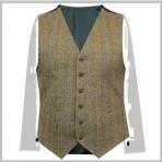 Argylle Tweed Weste  ab €110,00 verschiedene Farbe Direkt von Harris