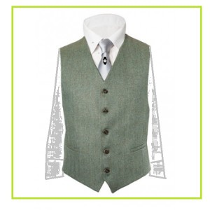 AAA tweed Vest