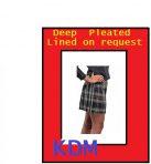 Mini Kilt  ab €120,00 lining extra( Innenfutter)