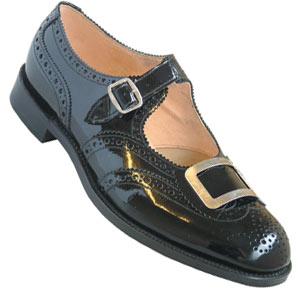 Scottish buckle Brogues