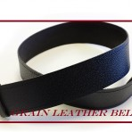 Grain Leather Belt