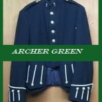 Archer Green Military Doublet