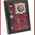Gift Box  Sgian Dubh, Buckle,Pin,Cufflinks