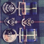 50th Annivesary Medal Queens Own Highlanders