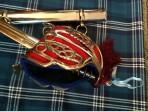 Queens Own Highlander Cap Badge