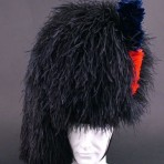 Feather Bonnet made in Scotland various coloured checks