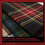 Tartan Cloth in Yds or Mtr available (Including St Pauli Tartan)