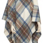 Serape or Ladies Cape Tartan or Plaid Cloth