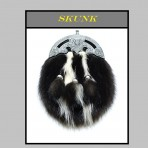 Dress Sporran   Skunk   Stinktier
