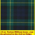 Gordon Military Plaids Can be pleated to Sett or Stripe
