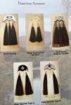 Hair Sporrans Various Coloured Hair and Tassels