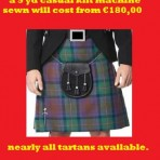 5 yd Casual Kilt machine made from €180,00