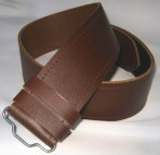 Leather Belt Brown   Leder Gürtel    Braun