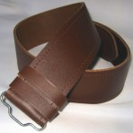 Leather Belt Brown   Leder Gürtel    Braun