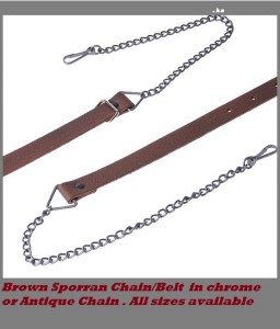 Sporran Chain Brown 1