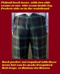 Tartan Trousers and Trews   ab 230,00