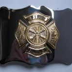 Firefighter Buckle Silver,Red or Gold Coloured ab 38,00