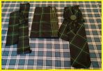 Gordon Kilt 16 oz Military,Free Flyplaid and Ladies Sash