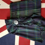 Kilt,Fly Plaid and Brooch  (Offers /Angebote €——
