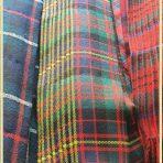 Pipers Plaid  (Short)Cameron Erracht Military Cloth